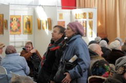 Духовная музыка в исполнении фольклорного ансамбля «Многая лета» в галерее «Соборная» Духовно-просветительского центра УПЦ 74
