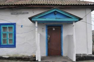Нынешнее состояние дома Марфы Ивановны Крадинг, в котором когда то размещалась церковно-приходская школа.