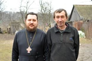 Сергей Александрович Ковалец  и Протоиерей Александр Журавлев