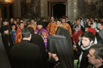 Фото репортаж со Свято-Троицкого Ионинского монастыря г.Киев со Светлого Праздника Воскресения Христова. 203