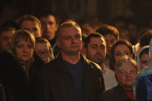 Фото репортаж со Свято-Троицкого Ионинского монастыря г.Киев со Светлого Праздника Воскресения Христова. 211