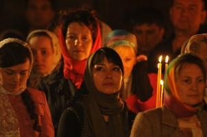 Фото репортаж со Свято-Троицкого Ионинского монастыря г.Киев со Светлого Праздника Воскресения Христова. 223