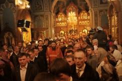 Фото репортаж со Свято-Троицкого Ионинского монастыря г.Киев со Светлого Праздника Воскресения Христова. 264