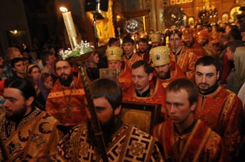 Фото репортаж со Свято-Троицкого Ионинского монастыря г.Киев со Светлого Праздника Воскресения Христова. 266