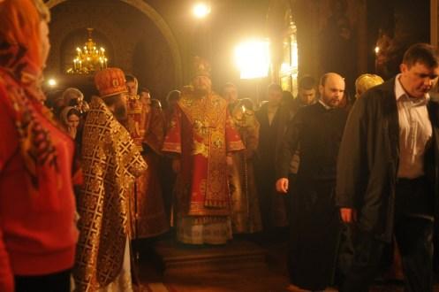 Фото репортаж со Свято-Троицкого Ионинского монастыря г.Киев со Светлого Праздника Воскресения Христова. 152