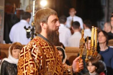 Фото репортаж со Свято-Троицкого Ионинского монастыря г.Киев со Светлого Праздника Воскресения Христова. 106