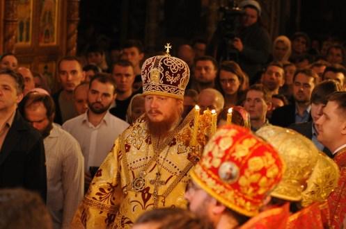 Фото репортаж со Свято-Троицкого Ионинского монастыря г.Киев со Светлого Праздника Воскресения Христова. 188