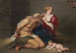 Caritas Romana («милосердие по-римски») Сюжет и картины великих 38