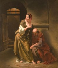 Caritas Romana («милосердие по-римски») Сюжет и картины великих 13