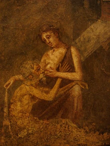 Affresco_romano_-_Pompei_-_micon_e_pero