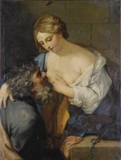Caritas Romana («милосердие по-римски») Сюжет и картины великих 15
