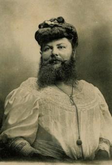 Бородатые женщины, искусство и извращения. Фото. 5