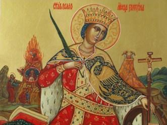 Завтра праздник св. Екатерины. Житие и страдание святой великомученицы Екатерины Александрийской. Иконы большого размера 15