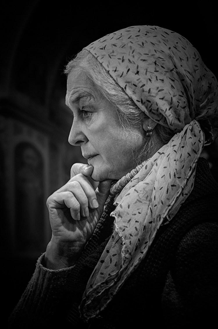© Фотограф Сергей Рыжков — Молитва матери