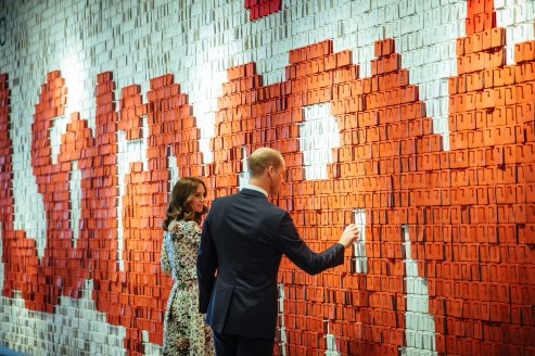 Prince William, the Duke of Cambridge and Catherine, the Duchess of Cambridge visit the European Solidarity Centre in Gdansk, Poland, July 18, 2017. Agencja Gazeta/Renata Dabrowska/via REUTERS ATTENTION EDITORS - THIS IMAGE WAS PROVIDED BY A THIRD PARTY. POLAND OUT. NO COMMERCIAL OR EDITORIAL SALES IN POLAND. TPX IMAGES OF THE DAY