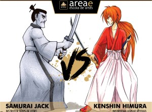 Samurai Jack vs. Kenshin Himura (Samurai X)