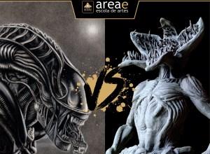 Xenomorfo (Aliens) vs. Demogorgon (Stranger Things)
