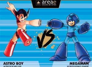 Astro Boy vs. Megaman