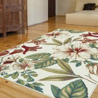 Universal Rugs 1014 Capri Transitional Area Rug, 5-Feet 3-Inch by 7-Feet 3-Inch, Ivory