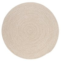 Tremont Round Area Rug, 8 by 8-Feet, Natural