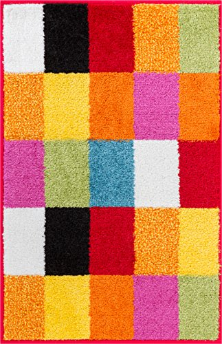 Small Rug Mat Doormat Well Woven Modern Kids Room Kitchen Rug Geometric  Squares 1u00278