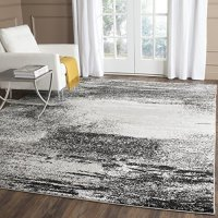 Safavieh Adirondack Collection ADR112G Modern Abstract Silver and Multi Area Rug (8' x 10')