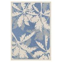 Couristan Monaco 221631 Coastal Floral Indoor / Outdoor Area Rug