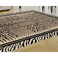 Universal Rugs Contemporary Animal 7 ft. 10 in. x 10 ft. 3 in. Area Rug , Beige