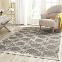 Safavieh Amherst Collection AMT413C Grey and Light Grey Indoor/ Outdoor Area Rug (3' x 5')