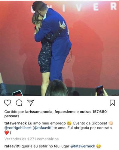 Instagram/Tatá Werneck