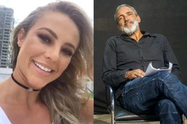 Paolla e Rogerio Gomes (Instagram/Globo/João Miguel Júnior)