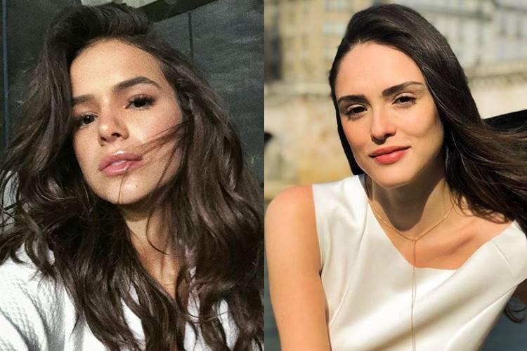 famosos que não se falam mais - Bruna Marquezine volta a seguir Isabelle Drummond nas redes sociais