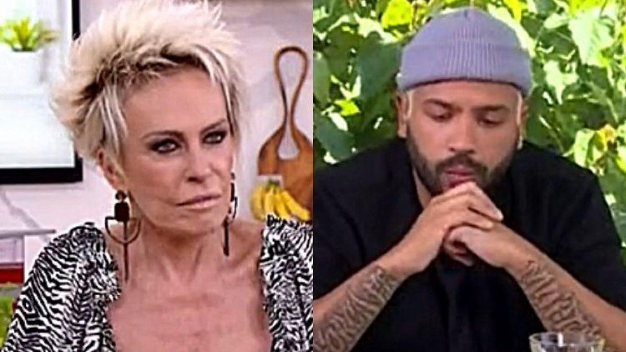 """Ana Maria Braga cutuca Projota: """"Vamos aprender a fazer arroz?"""""""