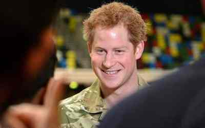 Friends in High Places – Prince Harry In Namibia