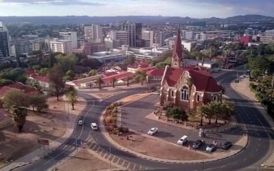 The Christuskirche in Windhoek