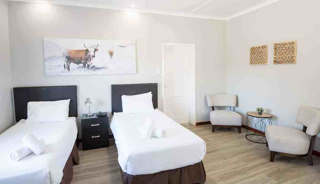 Chalet | Twin | Affordable Self-Catering Accommodation In Windhoek | Arebbusch Travel Lodge