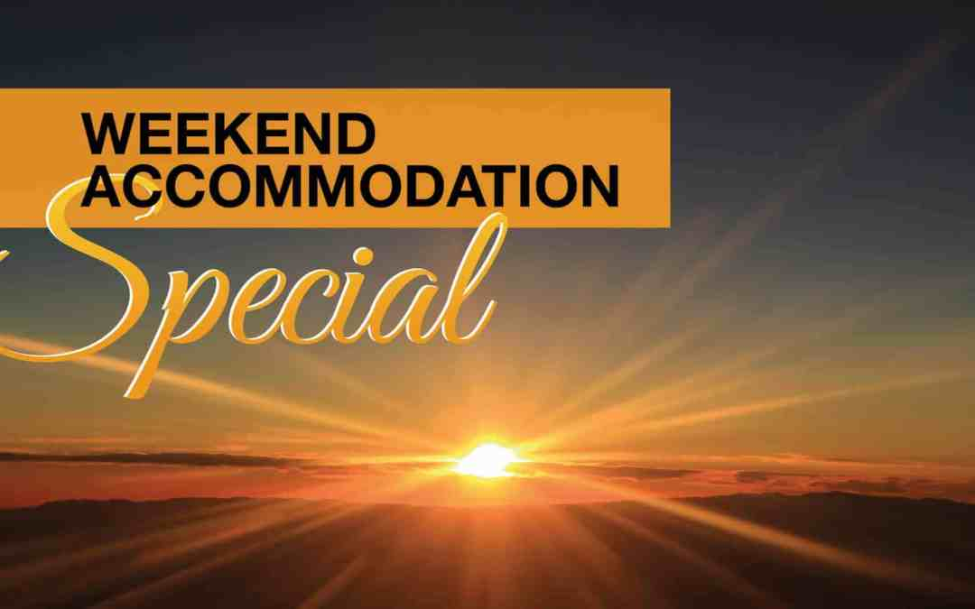 Arebbusch Travel Lodge Weekend Special