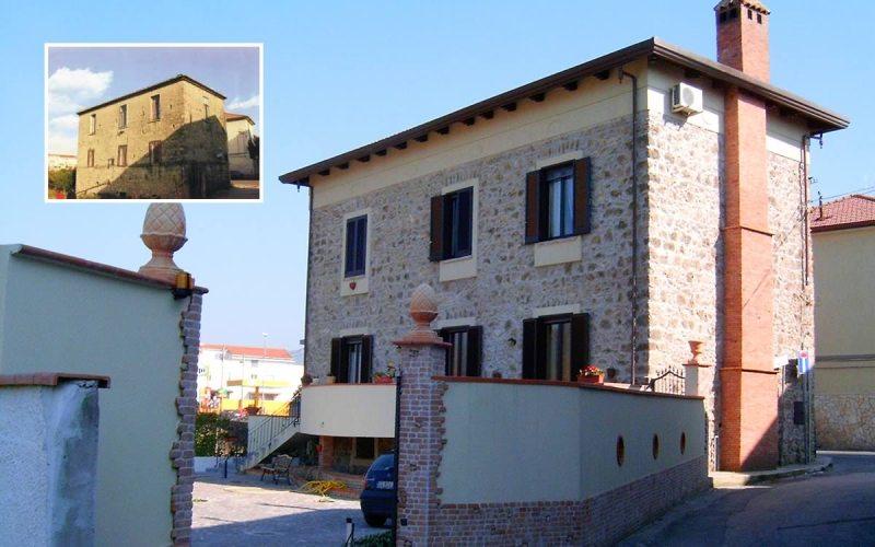 Lavori di restauro a Salerno