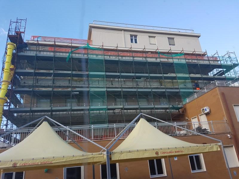 Ristrutturazione facciata e risanamento calcestruzzo