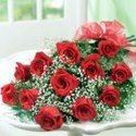 12 Red Roses | Artificial Flowers