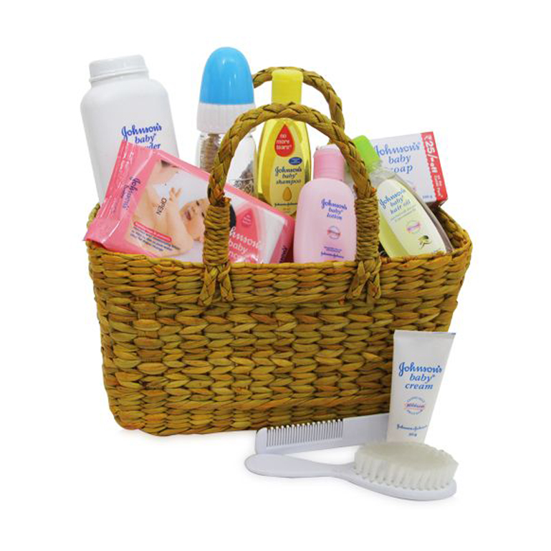 Little Bundle of  Baby Bath Basket