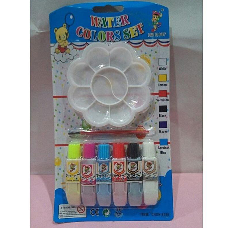 Pack of 06 Pcs Water Colour Tube Multicolour 199