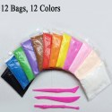 Pack of 12 fomic Light Clay For Kids