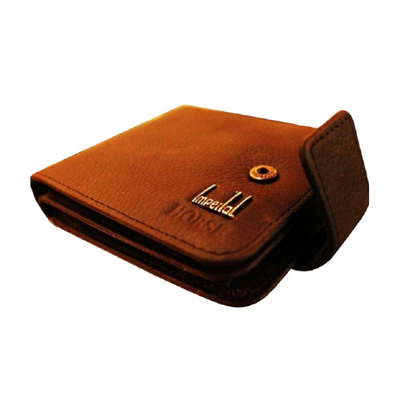 Pure Leather Wallet Brown 1950