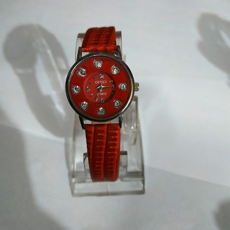 Red Beautiful Watch for Ladies