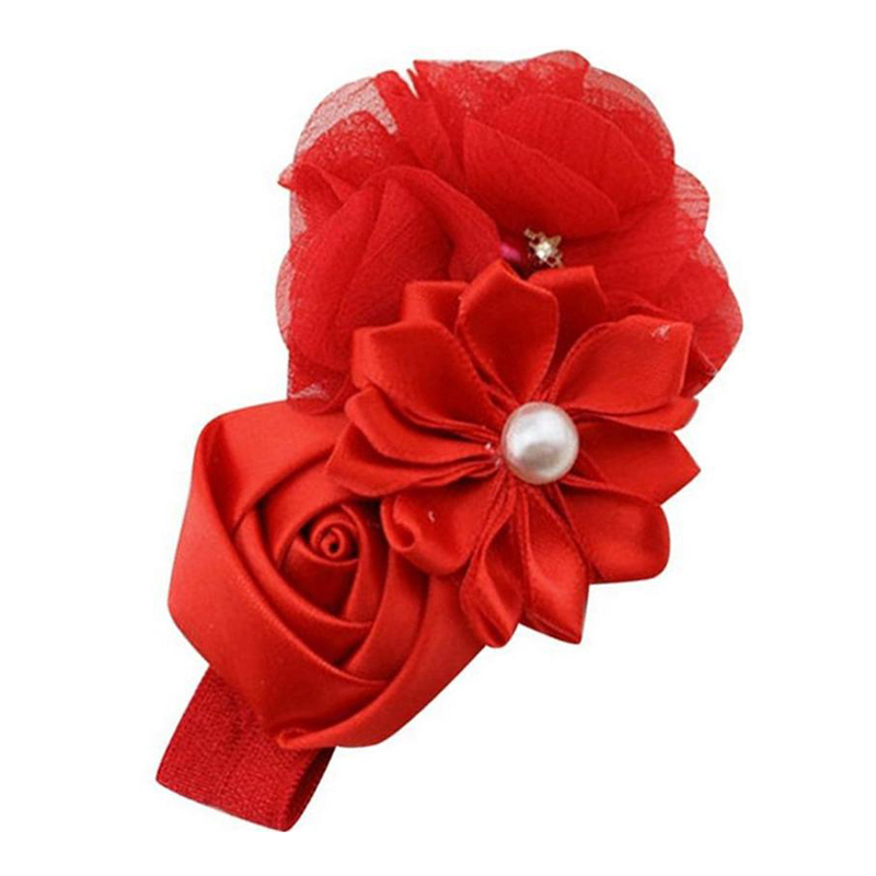 Red Fancy Hair Band