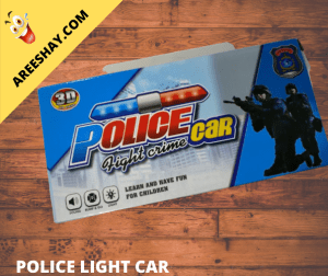POLICE CAR LIGHT CRIME