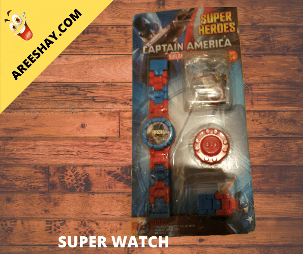 SUPER HEROS WATCH