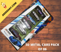 DIE CAST METAL CARS | PACK OF 06