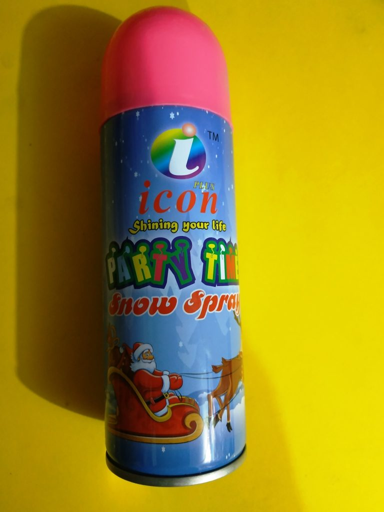 Snow Spray For Parties